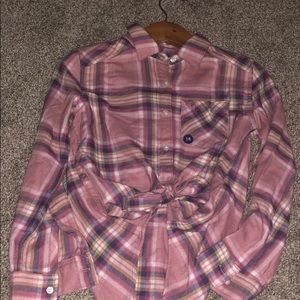 BNWT Abercrombie Flannel Button Up